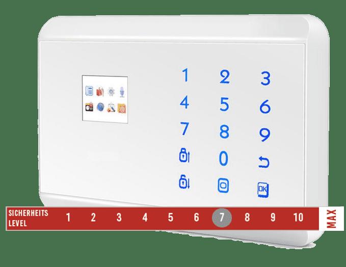 Alarmanlage mit Funk und Smartphone anbindung kaufen und Montage