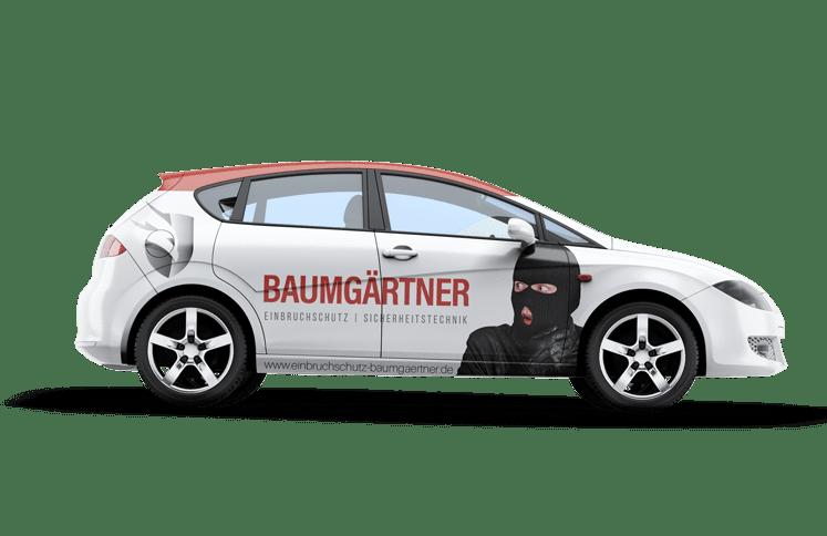 Montageservice Baumgärtner Einbruchschutz Auto Sicherheitstechnik Heilbronn