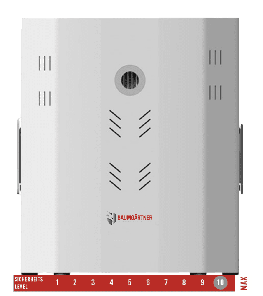 Reizgasanlage aktive Einbruchabwehr